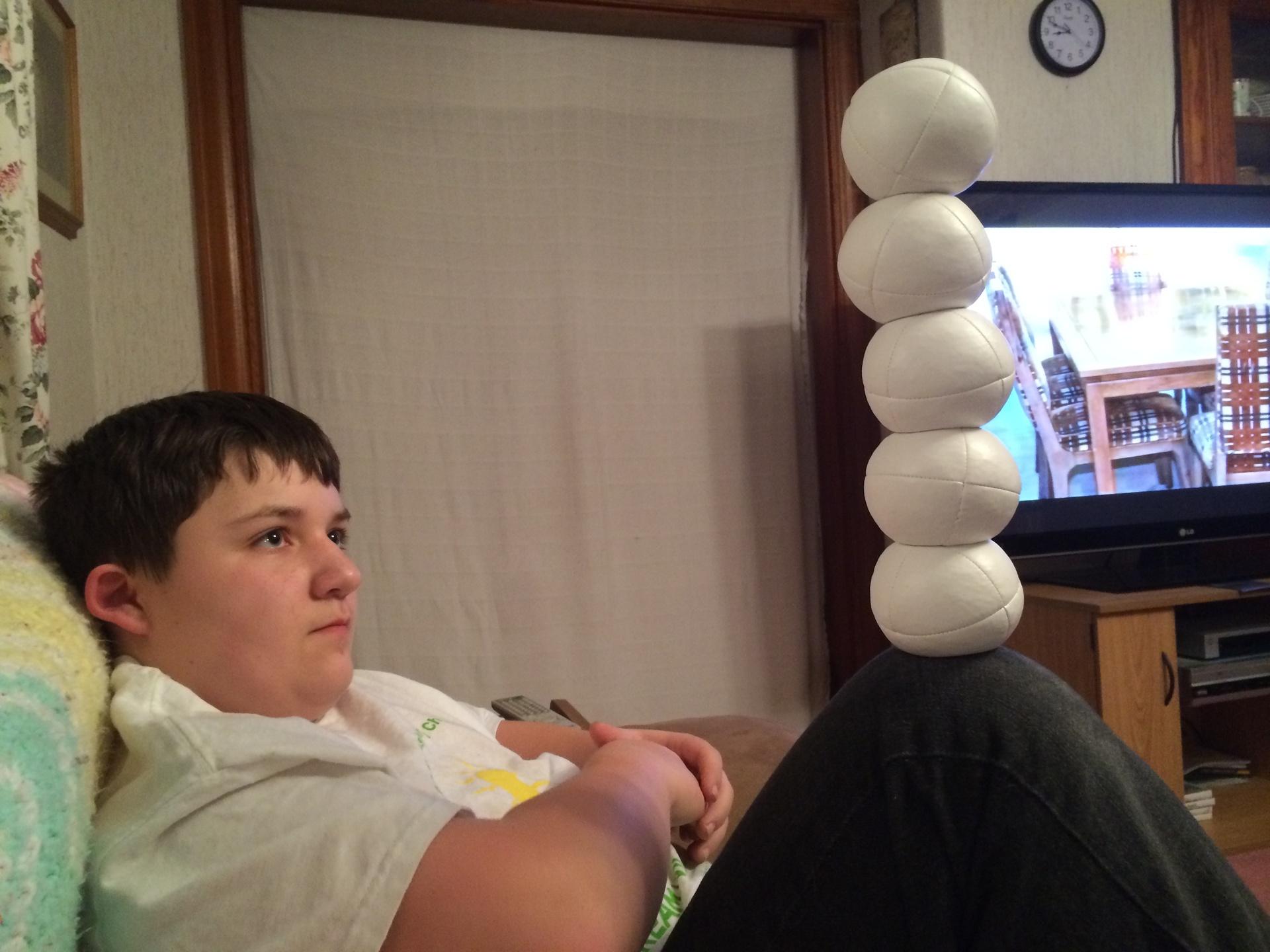 5 ball balance